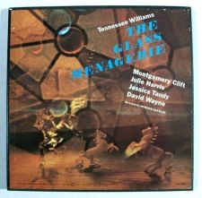 Buy Tennessee Williams THE GLASS MENAGERIE 2-LP Box Theatre Soundtrack / Insert