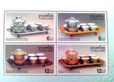 "Buy Stamp Thai 2000 ""Thai Benjarong Porcelain Pottery"" Thai Heritage Conservation."
