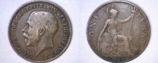 Buy 1919 One Penny World Coin - Great Britain - UK - England