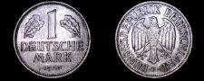 Buy 1950 F German 1 Mark World Coin - Germany