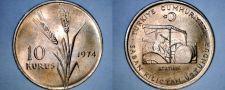 Buy 1974 Turkish 10 Kurus World Coin - Turkey