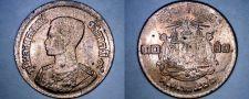 Buy 1957 BE2500 Thai 10 Satang World Coin - Thailand Siam Y-79a
