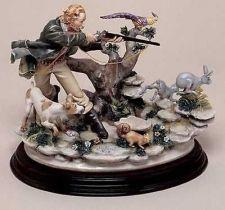 Buy CAPODIMONTE The Hunter by Enzo Arzenton Laurenz Classic Sculpture Italy