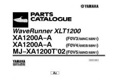 Buy Yamaha XLT1200 Waverunner Parts & Views by download Mauritron #344118