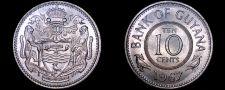 Buy 1967 Guyana 10 Cent World Coin