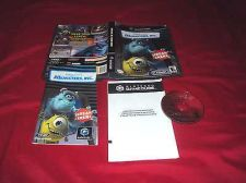 Buy MONSTERS, Inc. GameCube & Wii DISC MANUAL ART & CASE GOOD TO VERY GOOD