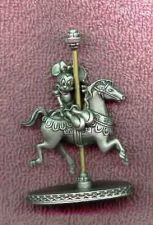 Buy Disney Minnie Mouse Carousel PEWTER horse Ship World
