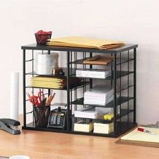 Buy Storage Organizer Stackable Holds Tabbed File Folders Office Supplies Equipment