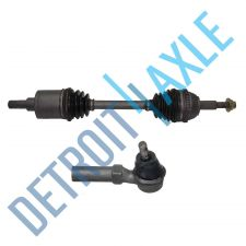 Buy Front Driver Side CV Axle Shaft and NEW Outer Tie Rod