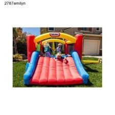 Buy Child Bounce Around Castle Inflatable House Little Tikes Outdoor Fun Jumper