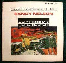 Buy SANDY NELSON ~ Compelling Percussion 1962 Drum Rock LP