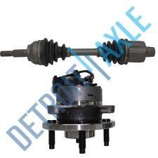 Buy NEW Front Wheel Hub Assembly + CV Axle Drive Shaft - A/T w/ ABS - G5 Cobalt