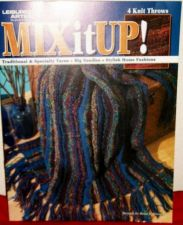 Buy Afghans, Knitting, Throws Mix it Up pattern Book by Leisure Arts