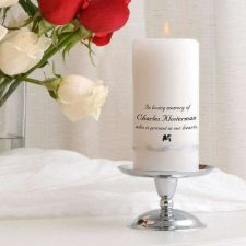 Buy Wedding Memorial Candle - Free Personalization