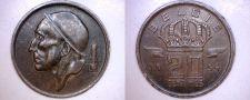 Buy 1954 Belgium 20 Centimes World Coin