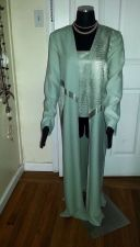 Buy NEW Turquoise Suit: Blouse & Classy Long Blazer by Morning Side, Women's Size 12