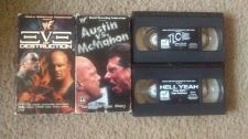 Buy LOT OF 4 wwf VHS wrestling STONE COLD HELL YEAH THE ROCK