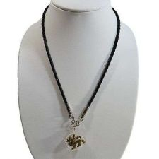 Buy SINGHA POWERFUL WEALTH MONEY AND CHARMING LUCKY NECKLACE AMULET