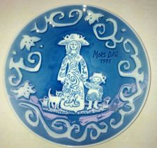 "Buy 1971 Commemorative Mothersday 6"" Saucer / ""MORS DAG"" / R.C. Denmark"