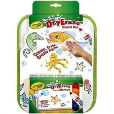Buy Crayola Dry Erase Go Anywhere Washable Marker Board Set Whiteboard Marker Office