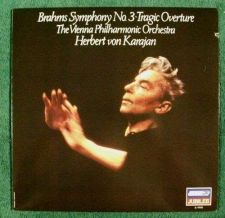 Buy BRAHMS ~ Symphony No. 3 - Tragic Overture Herbert von Karajan Classical LP