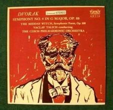 Buy DVORAK ~ Symphony No. 4 In G Major, Op. 88 Czech Philharmonic LP
