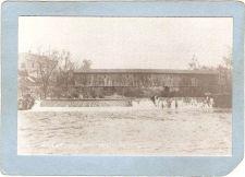 Buy New York Shushan Covered Bridge Postcard Bridge Over Battenkill River Repr~495