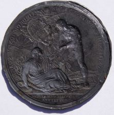 Buy 1800 Napoleonic Medal - Restoration of the Cisalpine Republic Trial Die -Reverse
