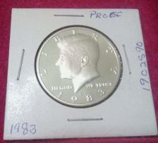 Buy 1983-S 50C DC (Proof) Kennedy Half Dollar