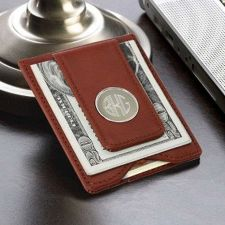 Buy Leather Wallet and Money Clip - Free Personalization