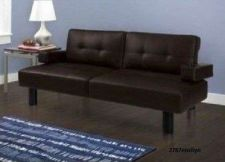 Buy Modern Sofa Bed Couch Futon Convertible Sleeper Living Room Furniture Leather