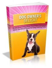 Buy Dog Owners Delight Ebook + 10 Free eBooks With Resell rights ( PDF )