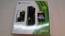 Buy Xbox 360 Slim 250 GB with 2 Controllers 2 games forza motorsport3 alan wake