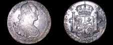Buy 1806 Mo-TH Mexican 8 Reales World Silver Coin - Charles IIII - Pillar Dollar