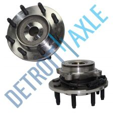 Buy Pair of 2 NEW Front Driver and Passenger Wheel Hub and Bearing 8 LUG w/ ABS wire
