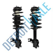 Buy 2 NEW Front Left Complete Ready Strut Assembly