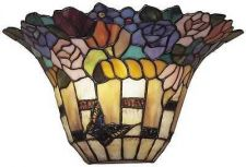 Buy Dale Tiffany Carmelita Wall Sconce Victorian Floral Stained Glass Shade TW100887