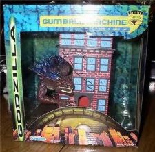 Buy GODZILLA Gum Ball Machine bank rare