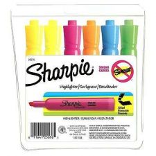 Buy Sharpie Accent Tank-Style Highlighters, 6 Colored Highlighters
