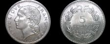 Buy 1949 (a) French 5 Franc World Coin - France