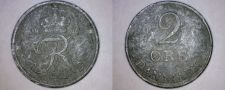Buy 1967 Danish 2 Ore World Coin - Denmark