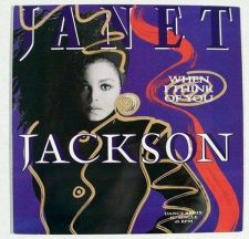 """Buy JANET JACKSON """" When I Think Of You """" 1986 Pop EP"""