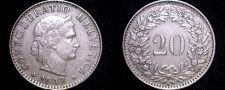 Buy 1943 Swiss 20 Rappen World Coin - Switzerland