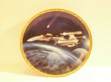 Buy Star Trek Voyagers Plate - Triple Nacelled U.S.S. Enterprise Plate No 2230D 1994