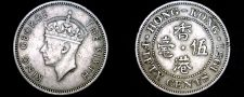 Buy 1951 Hong Kong 50 Cent World Coin