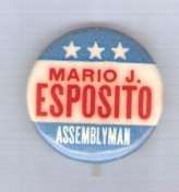 Buy New York Assemblyman Candidate: Esposito Political Campaign Button~1