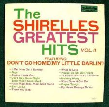Buy THE SHIRELLES GREATEST HITS / Vol. II 1967 Early Rock & Roll LP