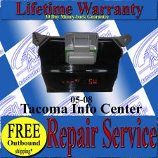 Buy TOYOTA TACOMA COMPASS TEMP INFO CENTER REPAIR SERVICE READ LISTING