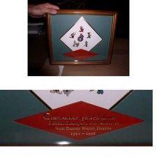 Buy Disneyana Convention Framed 5th Annual Pin Set framed