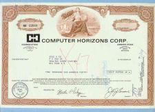 Buy New York na Stock Certificate Company: Computer Horizons Corp. ~22